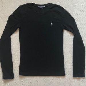 Ralph Lauren Sport - Black Long Sleeve - Size M